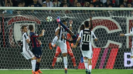 La rovesciata di Simy contro la Juventus: il manifesto del turno infrasettimanale | Numerosetto Magazine