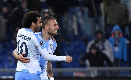 Immobile e Felipe Anderson portano avanti la Lazio   numerosette.eu