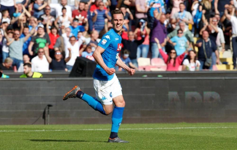 Milik in gol contro il Chievo | numerosette.eu