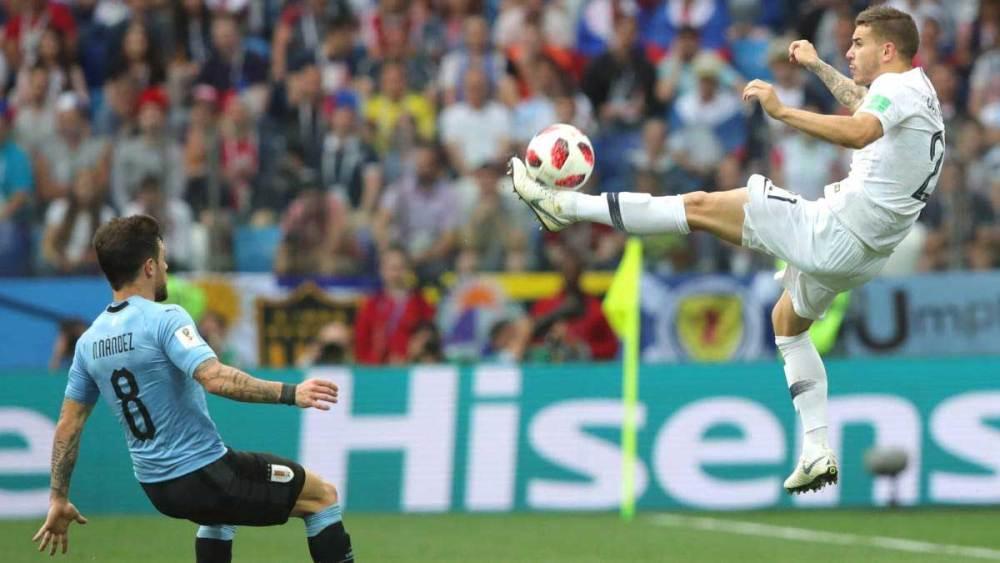Lucas Hernández vs Uruguay | Numerosette.eu