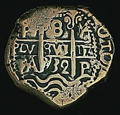 Latin America, Philip V, 1732 silver cob