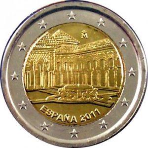 2 euros alhambra