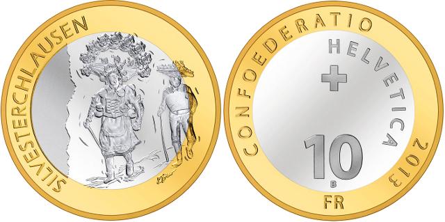 10 francos 2013