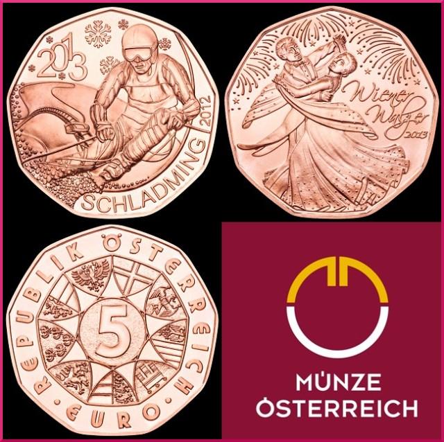 5 euros austria 2013