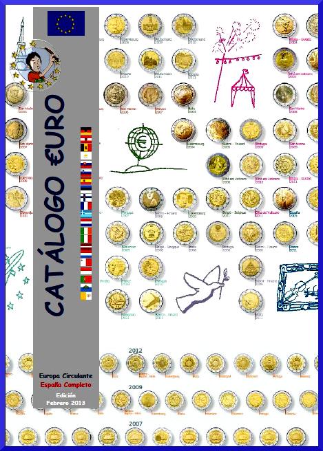 Catalogo del euro 2013