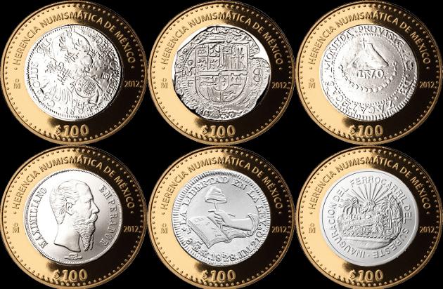 Herencia Numismática de México 2 serie