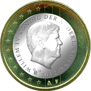 nuevo euro de Holanda