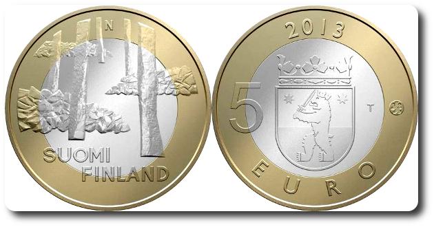 5 euros finlandia satakunta