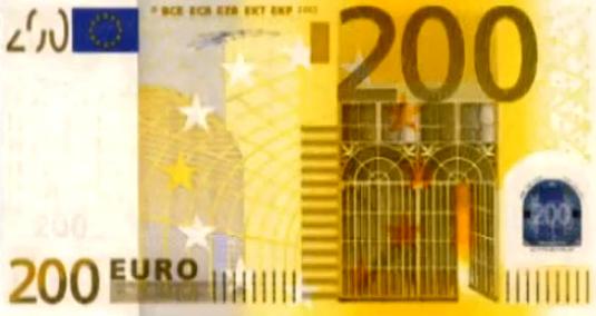 billete 200 euros
