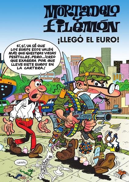 los comics y el euro