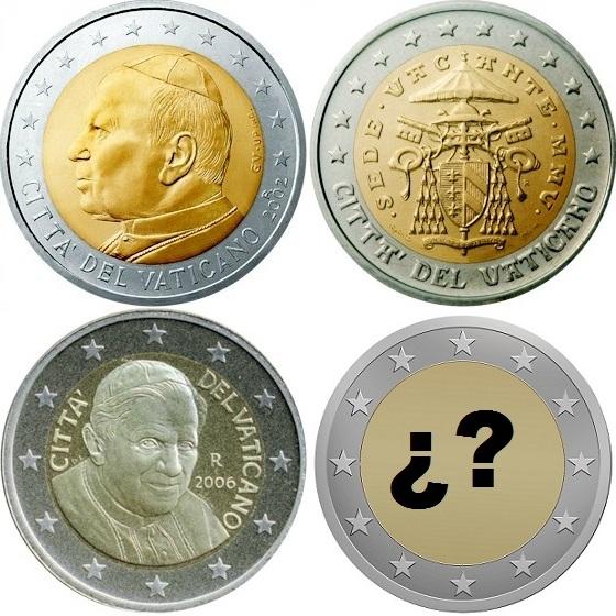 La serie que se emita será la cuarta de la historia de Vaticano dentro del euro.