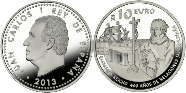 10 euro japon españa