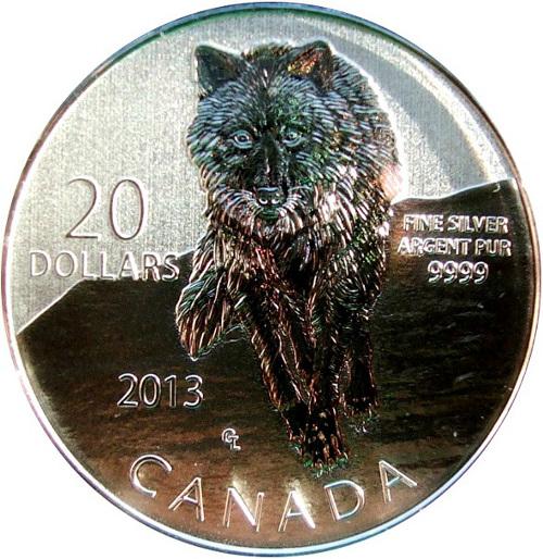 20 dolares lobo