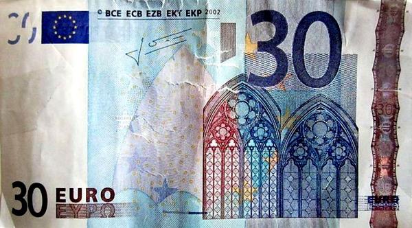 billete 30 euros