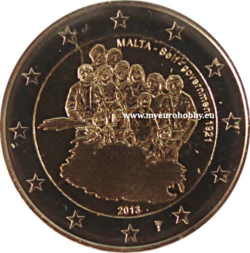 2 euro conmemorativos malta 2013