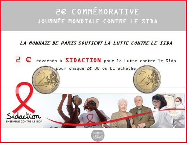 2 euro sidaction
