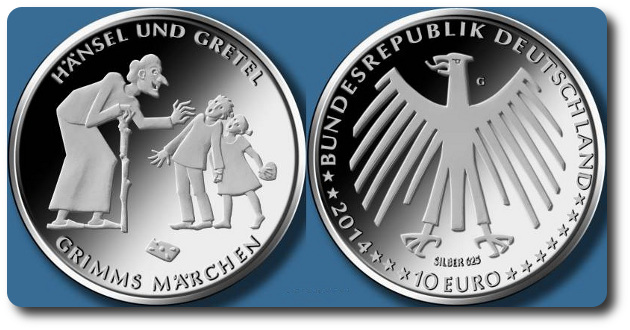 alemania 10 euro 2014