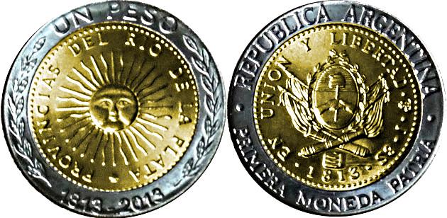 1 peso 2013