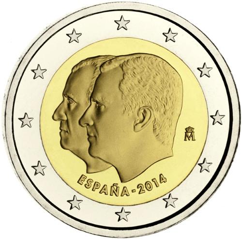 2 Euro - cara nacional