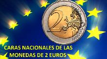 2 euros caras nacionales