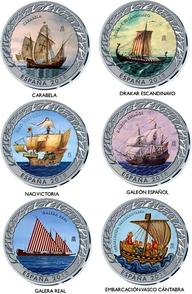 Acuñación y puesta en circulación de monedas de colección B2