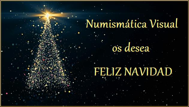 Deseos Para Feliz Navidad.Numismatica Visual Os Desea Felices Fiestas Y Feliz Navidad