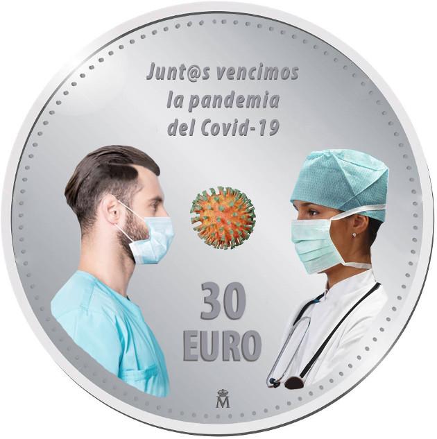 Diseños 30€ Covid-19. Propuestas para la FNMT 4d