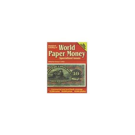 World Paper Money : Specialized Issues matériel pour...