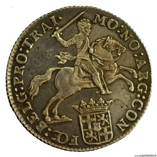 Pays Bas Utrecht 1/2 Ducaton 1794