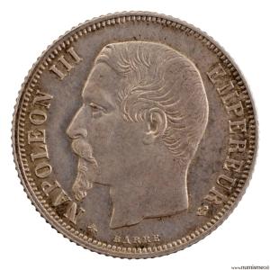 Napoleon III 1 Franc 1860 Paris