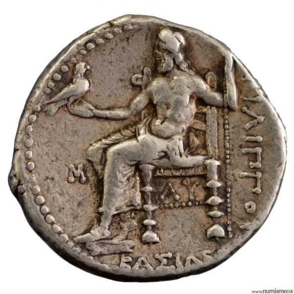 Macédoine Philippe III tétradrachme frappé à Babylone