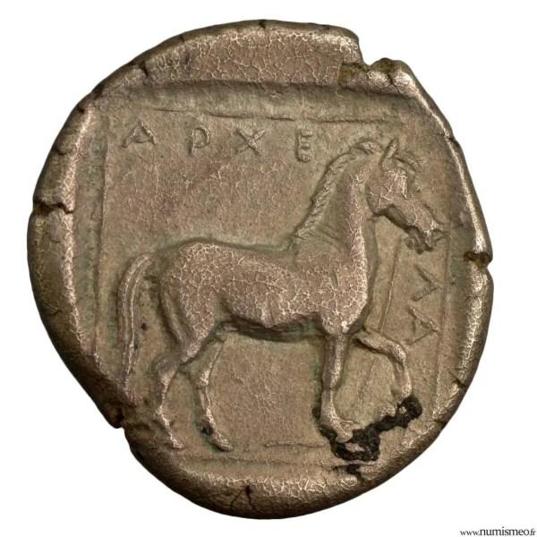 Macedoine statère d'Archélaos