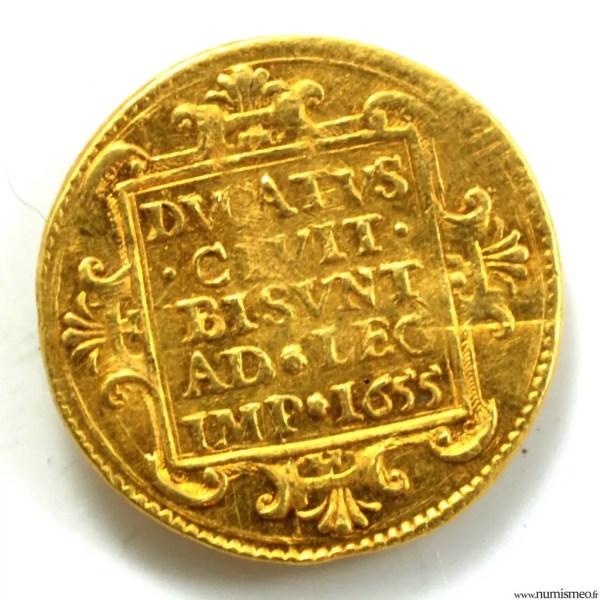 Franche-Comte 1/2 ducat 1655 pour Besançon