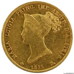 Duché de Parme 40 lire Marie Louise 1815