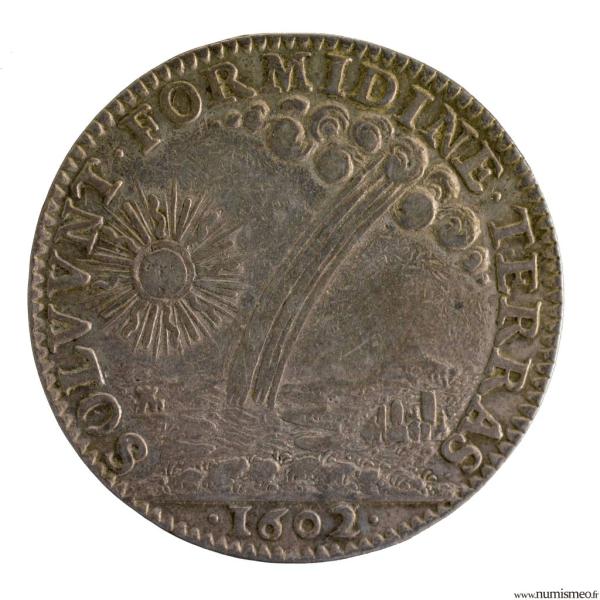 Henri IV AR Jeton 1602 conseil du roi