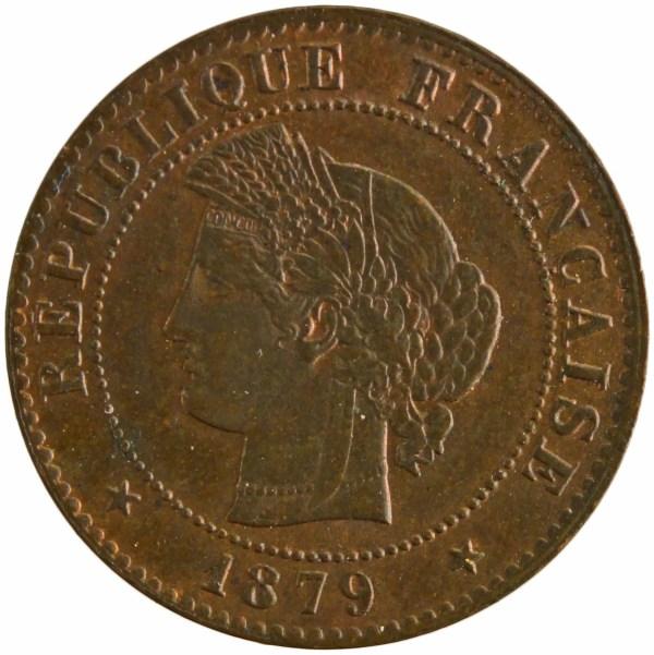 III République 1 centime 1879 Paris