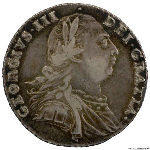 Grande Bretagne Georges III Shilling 1787