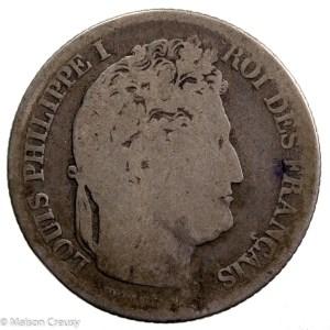 Louis Philippe AR franc 1832 Lyon