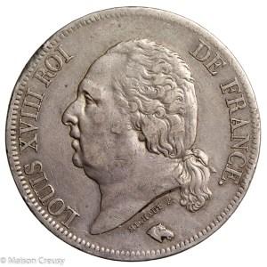 LouisXVIII-5francs1820A