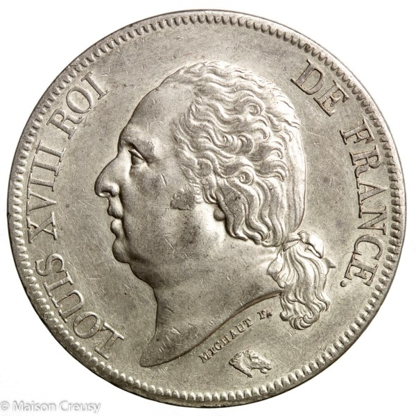 LouisXVIII-5francs1823A