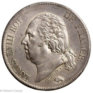 LouisXVIII-5francs1824A