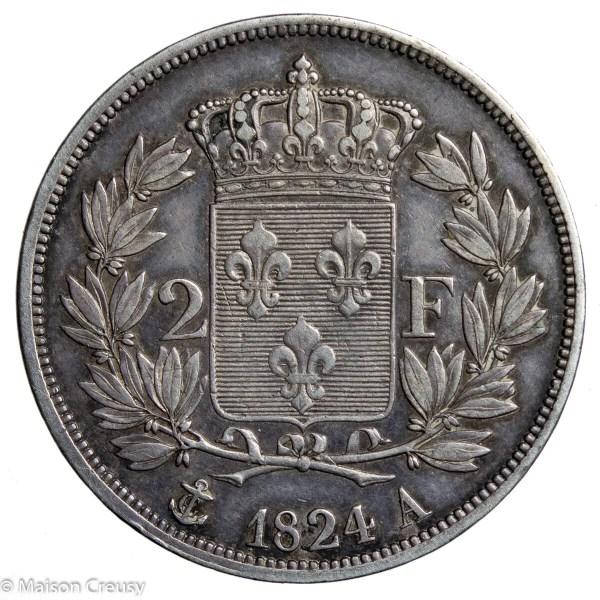 LouisXVIII-2francs1824A
