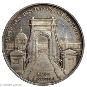 Jeton Compagnie pont sur le Rhone
