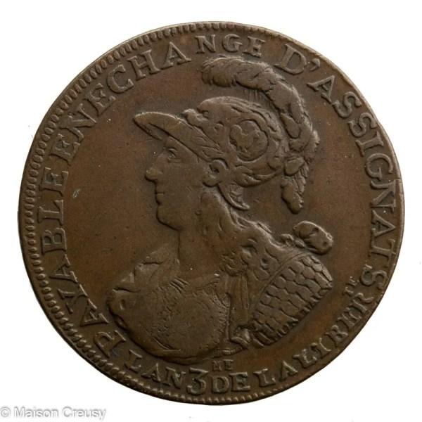 2sols de Montagny 1791