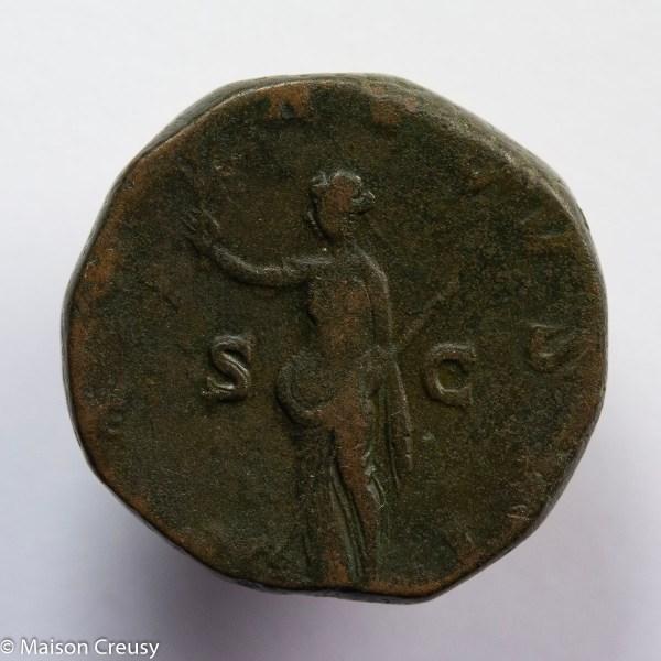 Maximin Sesterce Rome 235-236