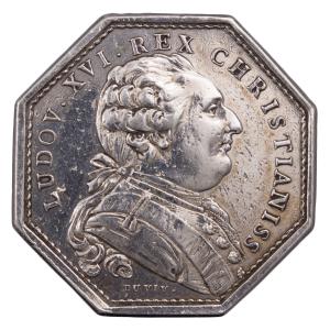 Louis XVI AR jeton 1785 clergé de France