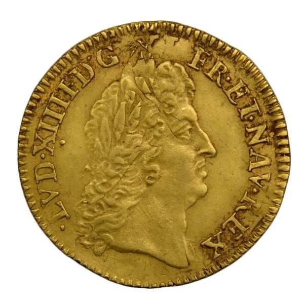 Louis XIV 1/2 louis à l'écu 1691 Lille réformation