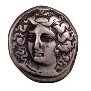 Thessalie drachme frappé à Larissa
