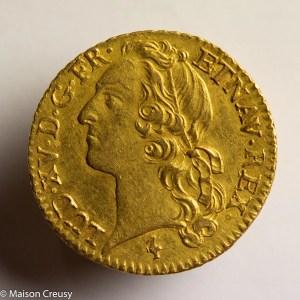 Louis XV louis au bandeau 1769 Paris