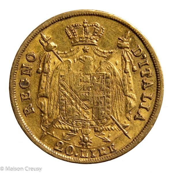 Nap I 20 lire 1809 M